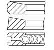 Fasce elastiche MITSUBISHI L 200 (K7_T, K6_T) 2011 Anno 08-287100-00 Ales. cilin.: 91,10mm