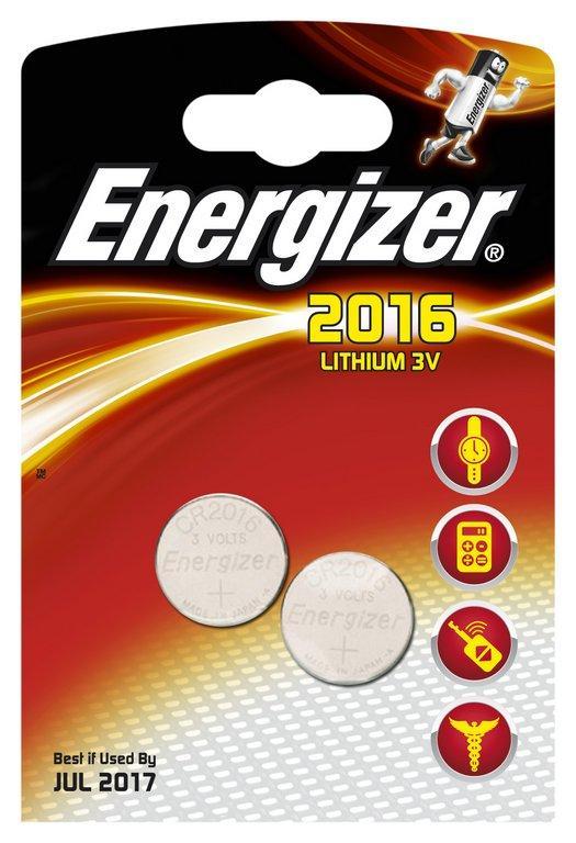 ENERGIZER CR 2016 626986 Batteries