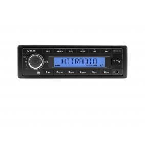 VDO  TR722U-BU Auto-Stereoanlage Leistung: 4x40W