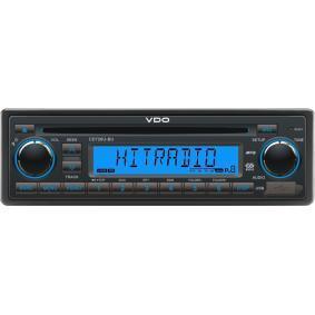 Auto-Stereoanlage Leistung: 4x15W CD726UBU