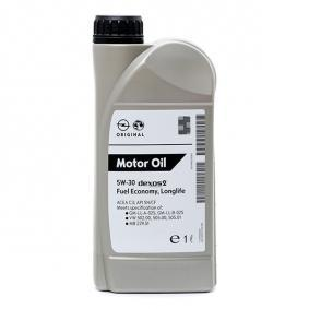 OPEL GM DEXOS2™, SUPER SYNTHETIC 19 42 000 Motorový olej
