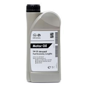 OPEL GM DEXOS2™, SUPER SYNTHETIC 19 42 000 Aceite de motor