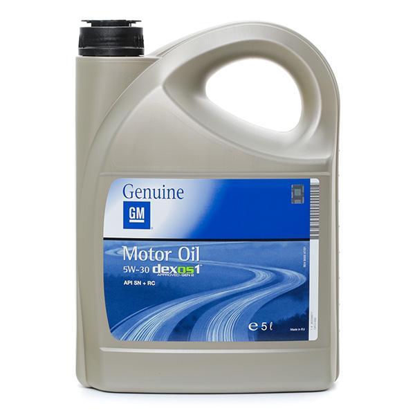 Olio motore OPEL GM 95599877 conoscenze specialistiche