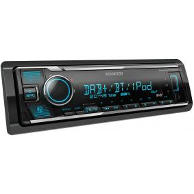 Stereo Potenza: 4x50W KMMBT505DAB