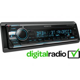 Auto-Stereoanlage Leistung: 4x50W KDCX7200DAB