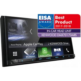 Odtwarzacz multimedialny Bluetooth: Tak, TFT DMX7017DABS