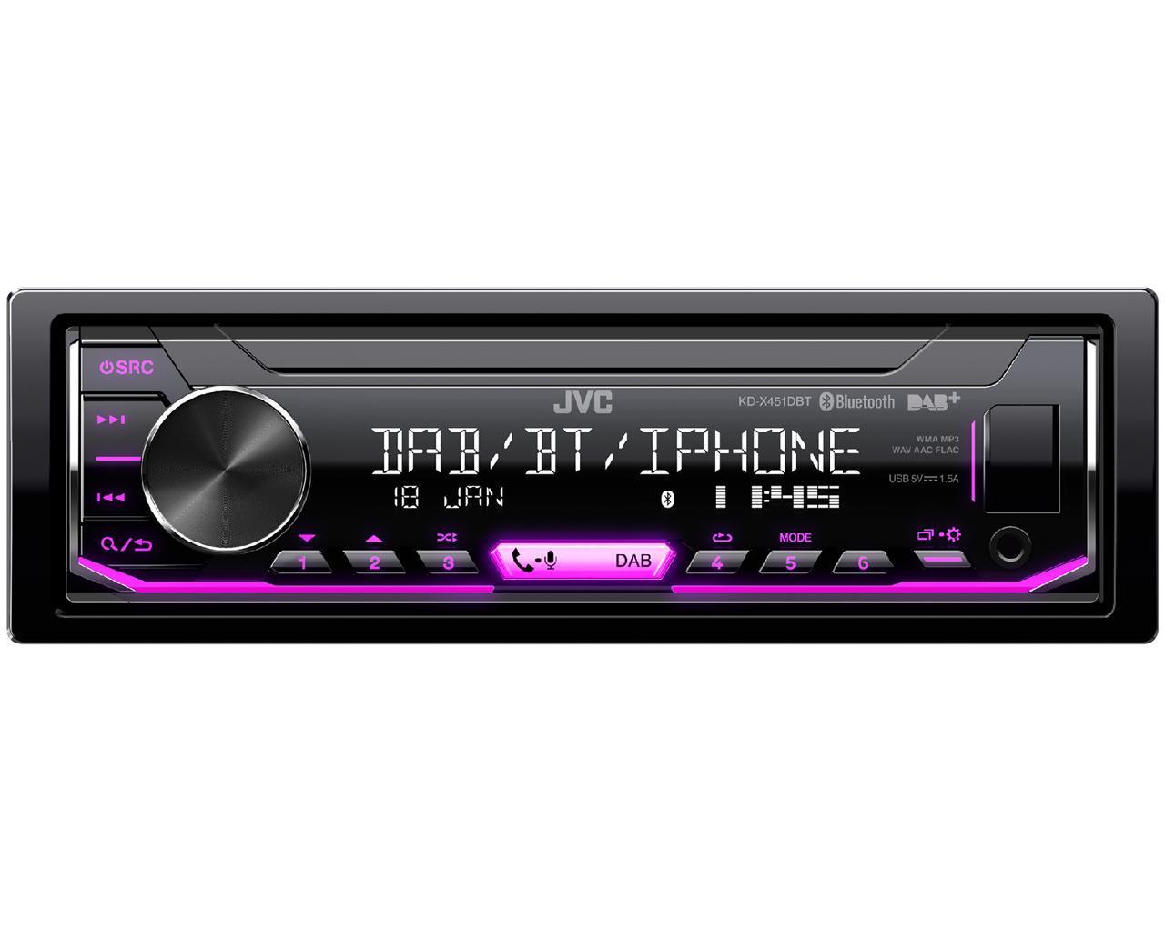 radio JVC KD-X451DBT Erfahrung