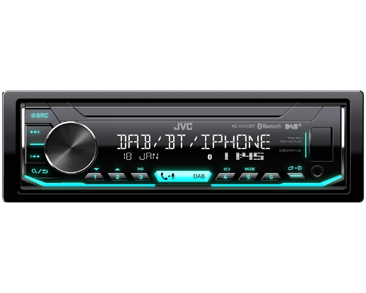 radio JVC KD-X451DBT 4975769449826