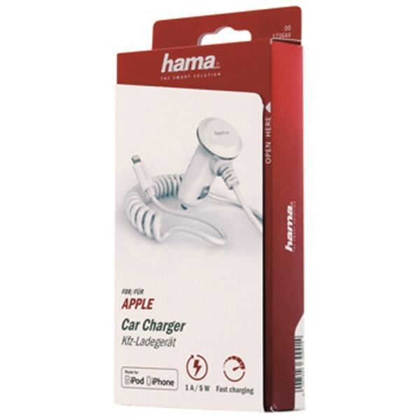 HAMA Essential Line 173644 Încărcător auto pentru telefon mobil Putere curent de iesire: 1A, Tensiune de intrare: 11-30V