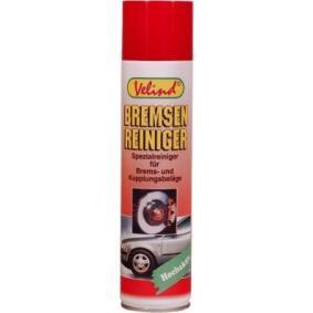 Bremsen- und Kupplungsreiniger VELIND 31286 für Auto (Inhalt: 400ml, Sprühdose)