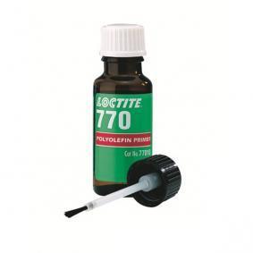 Kunststoffkleber LOCTITE 142624 für Auto (Flasche, Inhalt: 10ml, farblos, glasklar, nicht aushärtend)