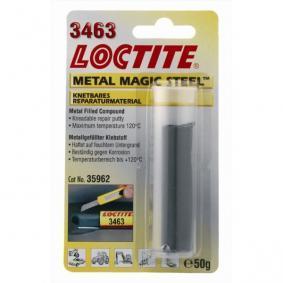 Metallkleber LOCTITE 396913 für Auto (Blisterpack, Epoxidharz, aushärtend, überlackierbar, Gewicht: 50g)