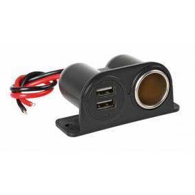 Kabel do ładowarki, zapalniczka samochodowa Natężenie prądu wyjżciowe: 15A 38967