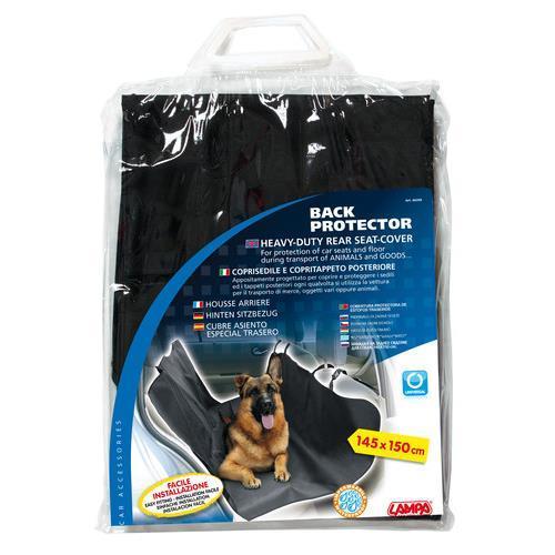 Skyddande bilmattor för hundar LAMPA 60399 Expertkunskap