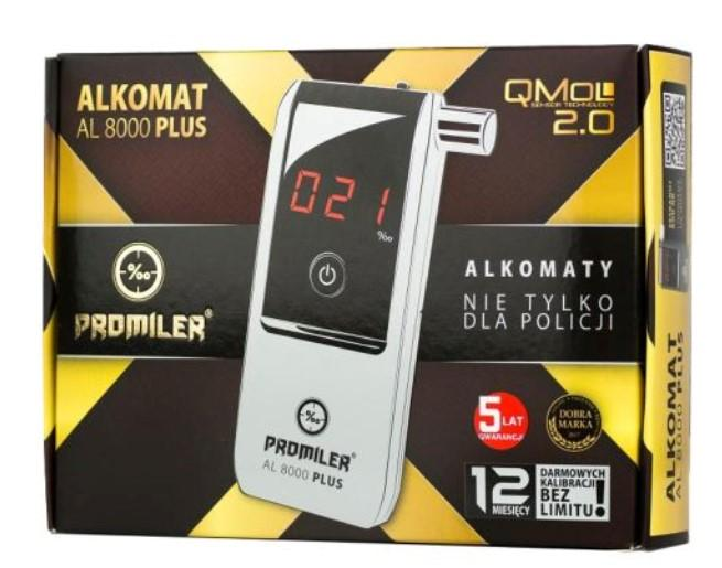 Alcohol Tester PROMILER AL8000 P rating