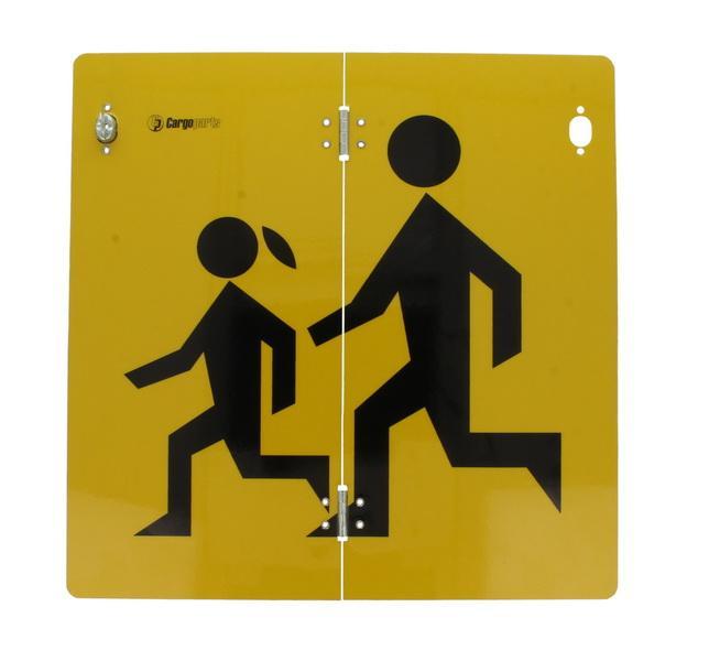 CARGOPARTS  CARGO-T101 Oznaczenie ostrzegawcze