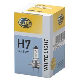 Bulb, spotlight H7, 55W, 12V 8GH 223 498-131 MERCEDES-BENZ C-Class, E-Class, A-Class