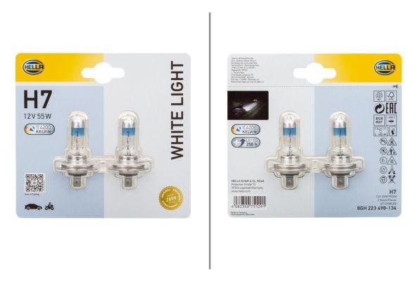 Glühlampe, Fernscheinwerfer 8GH 223 498-134 HELLA H712VWLB2 in Original Qualität