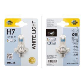 Bulb, spotlight H7, 55W, 12V 8GH 223 498-138