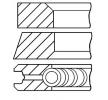 GOETZE ENGINE Aros de pistón RENAULT Calibre.cil.: 80,00mm