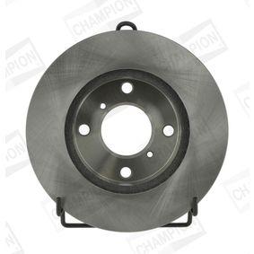 Bremsscheibe Bremsscheibendicke: 17mm, Lochanzahl: 4, Ø: 231mm, Ø: 231mm mit OEM-Nummer 5C0 615 301D