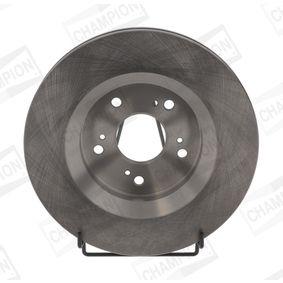 Brake Disc Brake Disc Thickness: 28mm, Num. of holes: 5, Ø: 293mm, Ø: 293mm with OEM Number 45251-T1E-G01