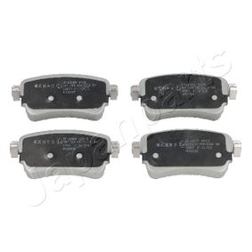 Комплект спирачно феродо, дискови спирачки Артикул № PP-2004AF 370,00BGN