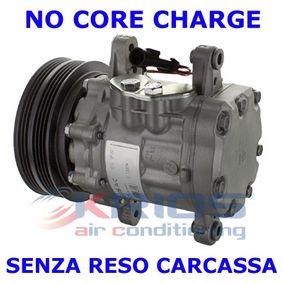 MEAT & DORIA  K11337R Compressor, air conditioning Belt Pulley Ø: 120mm