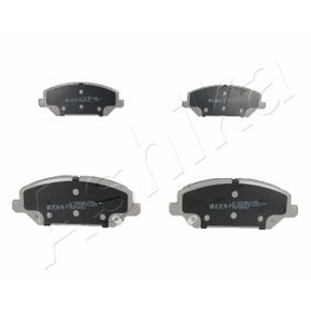Brake Pad Set, disc brake Width: 59,6mm, Thickness: 18,9mm with OEM Number 58101 G4A10