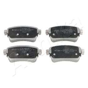 ASHIKA  51-02-2004 Brake Pad Set, disc brake Height: 53,5mm, Thickness: 16,5mm
