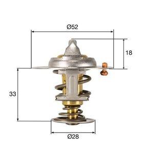 Thermostat, Kühlmittel mit OEM-Nummer 1340.90