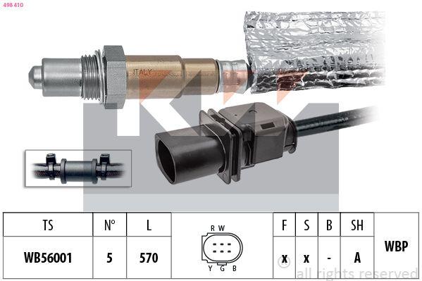 KW  498 410 Lambdasonde Kabellänge: 570mm