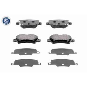 Brake Pad Set, disc brake A26-0090 CIVIC 8 Hatchback (FN, FK) 2.0 R MY 2014
