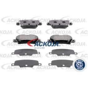 Brake Pad Set, disc brake A26-0090 CIVIC 8 Hatchback (FN, FK) 2.0 i-VTEC Type R (FN2) MY 2010