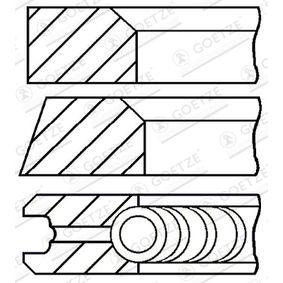 GOETZE ENGINE  08-743100-00 Kolbenringsatz
