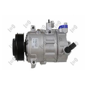 Kompressor, Klimaanlage Riemenscheiben-Ø: 110mm, Anzahl der Rillen: 6 mit OEM-Nummer 1K0820808B
