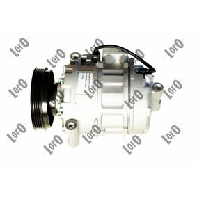 Compresor, aire acondicionado Polea Ø: 110mm, Número de canales: 4 con OEM número 4B0260805K