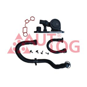 Oil Trap, crankcase breather with OEM Number 06F129101L
