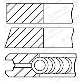Kolbenringsatz mit OEM-Nummer 61 30 08 1