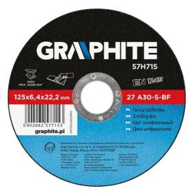 GRAPHITE  57H715 Trennscheibe, Winkelschleifer
