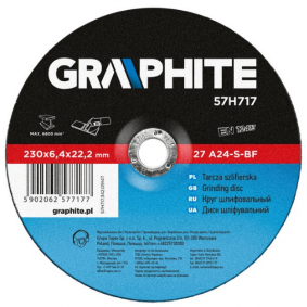 GRAPHITE  57H717 Trennscheibe, Winkelschleifer