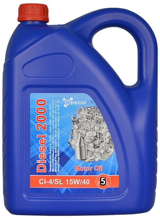 SPECOL Spec, Diesel 2000 101449 Motoröl