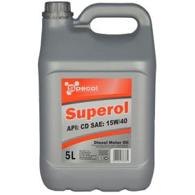 SPECOL Superol 102709 Двигателно масло