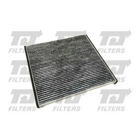 Filter, Innenraumluft Länge: 216mm, Breite: 195mm, Höhe: 18mm mit OEM-Nummer 0897400820