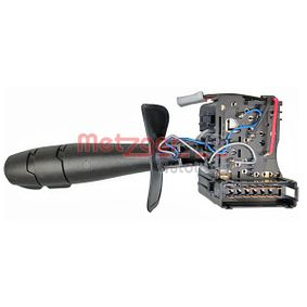 Steering Column Switch with horn, with indicator function, with light dimmer function, with rear fog light function, without board computer function with OEM Number 2554 000 QAJ