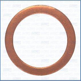 Anillo de junta, tapón roscado de vaciado de aceite Ø: 22mm, Espesor: 2mm, Diám. int.: 16mm con OEM número 11137546275