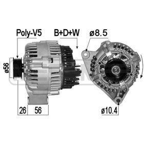 Generator 209159A SAXO (S0, S1) 1.6 VTL,VTR Bj 1999