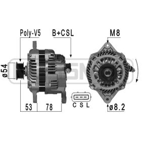 Generator 210955A IMPREZA Schrägheck (GR, GH, G3) 2.5 WRX STI AWD (GRF) Bj 2009