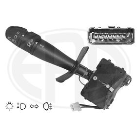 Steering Column Switch Number of connectors: 15, with high beam function, with indicator function, with light dimmer function, with rear fog light function with OEM Number 7701047254
