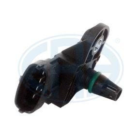 Sensor, pressão colector de admissão Número de ligações: 4 com códigos OEM 91 58 595